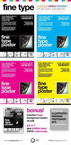 Creative Promotional Poster / PSD Flyer Template • Only available ...