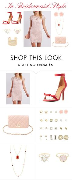 """In Bridesmaid Style"" by charlotterusse ❤ liked on Polyvore featuring Charlotte Russe, dressobsessed and CharlotteLook"
