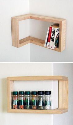 Edge Cases: 8 Space-Saving Design Ideas for Inside Corners | Smart Functional Furniture Design Inspiration | Wood