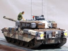 Military Models and 1/35 Scale Models by Accurate Armour. Superb Berlin Chieftain & Crew by Alain Taou (France)