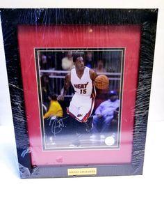 Authentic Miami Heat Player Mario Chalmers Autographed NBA Memorabilia NEW 44045881c
