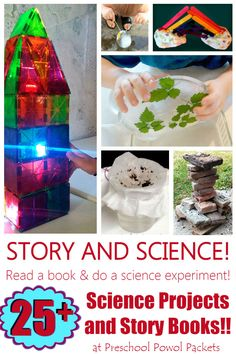 Fantastic science experiments, activities, and STEM science projects for kids to go with books! Earth Science Projects, Earth Science Activities, Earth Science Lessons, Science Projects For Kids, Stem Science, Science Experiments Kids, Science For Kids, Science Art, Science Notes