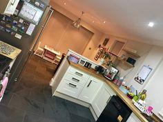 Shot of my new kitchen at a jaunty angle...!