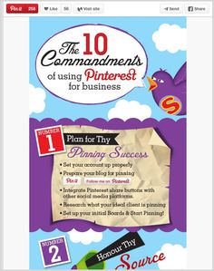 Drive traffic with #pinterest to your website.