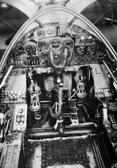 Dornier Do 335 Pfeil (Arrow) Cockpit.