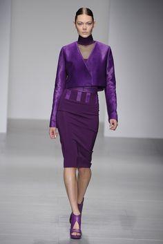 David Koma RTW Fall 2014 - London Fashion Week