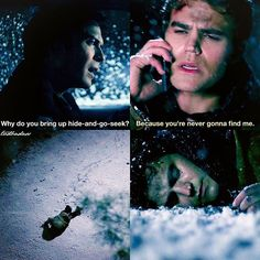 """#TVD 7x17 """"I Went to the Woods"""" - Damon and Stefan"""
