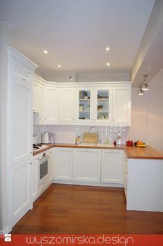 Mieszkanie 67m2 - zdjęcie od wyszomirska design - Kuchnia - Styl Prowansalski - wyszomirska design