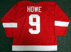 AAA Sports Memorabilia LLC - Gordie Howe Detroit Red Wings NHL Hand Signed Authentic Style Red Hockey Jersey, $487.50 (http://www.aaasportsmemorabilia.com/nhl/gordie-howe-detroit-red-wings-nhl-hand-signed-authentic-style-red-hockey-jersey/)