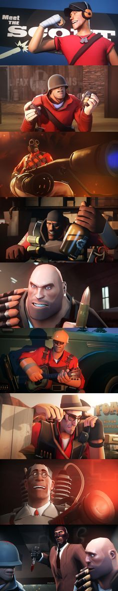 Team Fortress 3, Tf2 Funny, Dream Daddy Game, Valve Games, Tf2 Memes, Fanart, Star Wars Wallpaper, Number Two, Funny Games