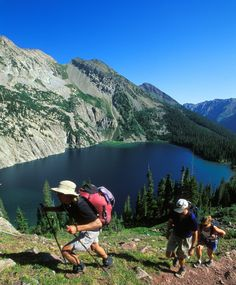 Think of Aspen and you'll probably envision snowy slopes and cozy ski lodges. But in summer, those same snow-capped mountains turn into a hiker's dream, with stretches of trails to explore.