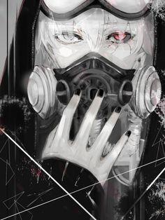 """ Kaneki "" ※Art by シシ (https://twitter.com/eai_make/)"