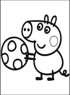 13 Peppa Pig printable coloring pages for kids. Find on coloring-book thousands of coloring pages. Peppa Pig Coloring Pages, Cool Coloring Pages, Free Printable Coloring Pages, Coloring Pages For Kids, Coloring Books, Coloring Sheets, Peppa E George, George Pig Party, Paper Plate Crafts