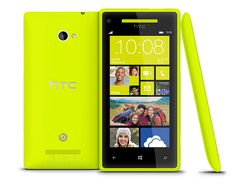 WP 8X by HTC Limelight Yellow