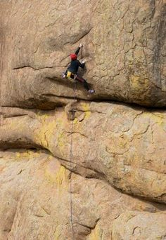 """Learn to rock climb with """"Guide for a Day"""" at the Wichita Mountains Wildlife Refuge in Lawton."""
