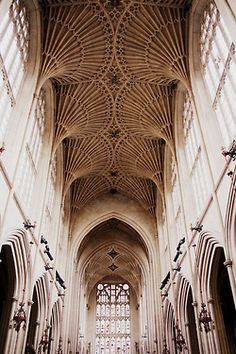 Amazing vaulted ceilings