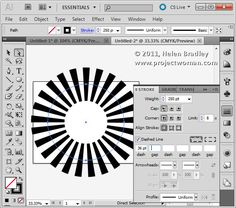 Illustrator make sunburst vector shape step2a Create a Vector Sunburst in Illustrator