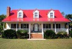 Ocean Blue Metal Roof House Siding Ideas Pinterest