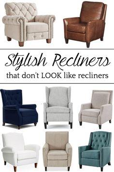 Best 25 Recliners Ideas On Pinterest Recliner Chairs