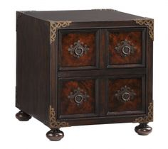 Bromwich Chairside Chest | Lexington | Home Gallery Stores