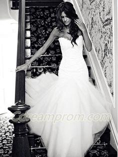 #mermaid wedding dress #chiffon #wedding