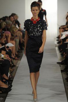 Oscar de la Renta RTW Spring 2013 - Runway, Fashion Week, Reviews and Slideshows - WWD.com