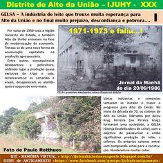 IJUÍ - RS - Memória Virtual: GELSA - A indústria de pasteurização do leite que ...