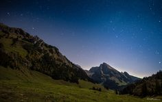 Stars over the sheep mountain