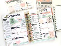 September monthly in the 'Botanical Garden' Happy Planner™ of mambi Design Team…