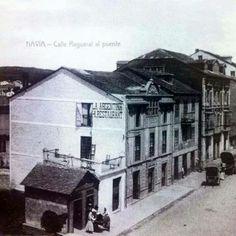 La Sidrería Magaya de Navia fue la pionera de la sidra en Navia.  ¿alguien sabe de que año es esta foto?  Queremos dar las gracias a Beatriz Pérez por la foto.