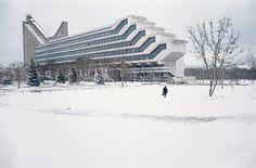 Photo: Frédéric Chaubin - Biélorussie, Minsk, Faculté d'architecture