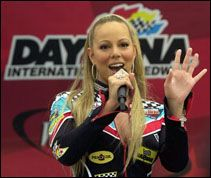 Mariah At Daytona 500-2003 Star Spangled Banner Mariah Carey