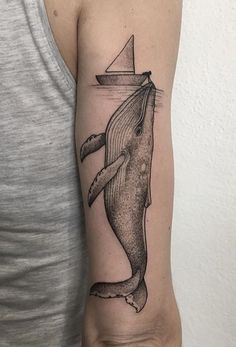 La Bigotta whale tattoo