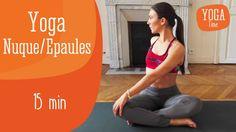 Vous passez beaucoup de temps devant un ordinateur et avez fréquemment des douleurs cervicales...  Delphine Bourdet , professeur de Yoga, vous propose une routine de Yoga à pratiquer dès que vous sentez des tensions dans votre nuque ou vos épaules.