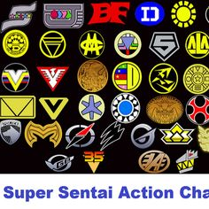 Super Sentai Action Channel is a channel that contains super sentai action