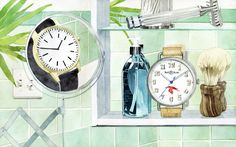 Watches - marcel george illustration