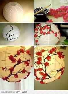 cherry blossom lantern:)