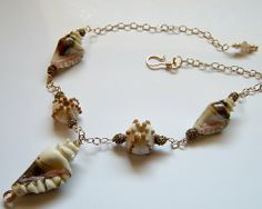 Jewelry Made Of Seashells | Prim Rose Hill Studio: FRIDAY FLICKR INSPIRATION: SEA SHELL JEWELRY