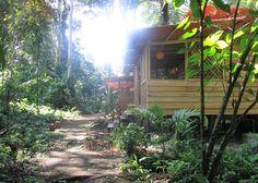 Mietshaus mit traumhafter Lage, direkt an der Karibik, bei Puerto Viejo, Talamaca, Costa Rica. Wohnfläche: ca. 40 qm, Objektzustand: Neuwertig, Übernachtung: 110,00 USD