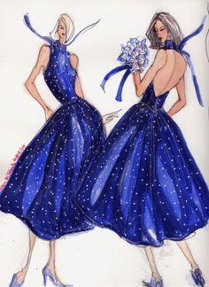 Fashion Illustrated ...dots