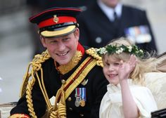 How cute is this! Bet she's pretending to be a Princess on her wedding day :)