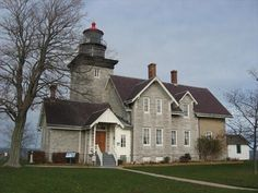 Thirty Mile Point Lighthouse Cottage - Barker, NY - Lighthouse Bed and Breakfasts on Waymarking.com