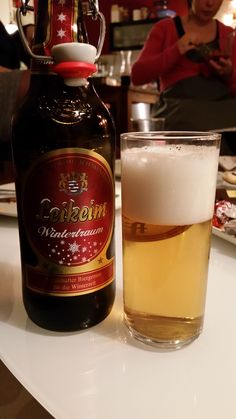 Christmas Specialty Beer Brewed by Monks in a 950 year old Brewery