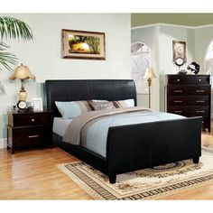 Furniture of America Benedicte Modern Espresso 3-piece English Style Bedroom Set | Overstock™ Shopping - Big Discounts on Furniture of Ameri...