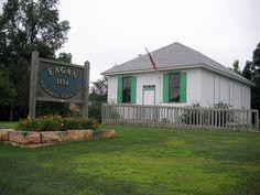 Eagan Historical Society's 1914 Town Hall Museum, Eagan, MN.