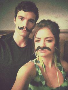 Ian Harding & Lucy Hale
