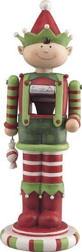Santa Workshop Elf Christmas 12 Inch Nutcracker