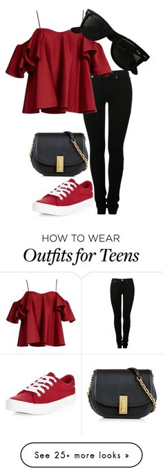 """""""Untitled #626"""" by imsarathepanda on Polyvore featuring New Look, MM6 Maison Margiela, Anna October, Marc Jacobs and Ray-Ban"""