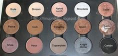 15 must-have MAC eyeshadows; the best basic colors
