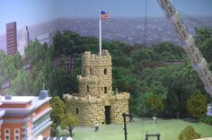 Legoland #Somerville (Boston) - Somerville's Prospect Hill Tower monument | Chris Devers